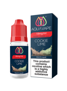 Течност Aqua Vape Cookie Lime 10 ml