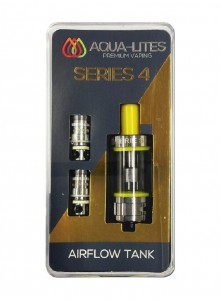 Aqua Lites Series 4 Airflow Tank 4.0 ml/0.5 ohm