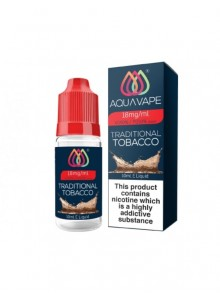 Aqua Vape течност Traditional Tobacco 10 ml