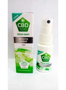 CBD EDG Fresh Mint спрей за уста 10 ml/ 250 mg