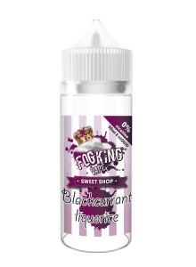 Течност FogKing Vape Blackcurrant liquorice 50 ml (Nic Shot 10 ml)