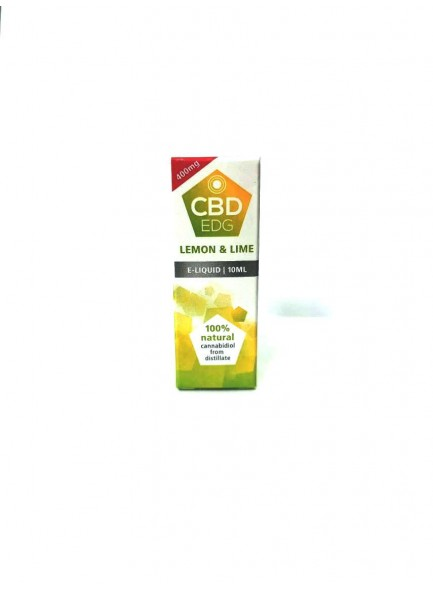 Течност CBD EDG Lemon & Lime 10 ml / 400 mg