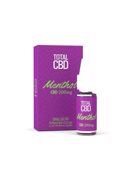 Течност Total  CBD  Menthol  10 ml / 200 mg