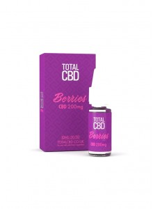 Течност Total  CBD  Berries  10 ml / 200 mg