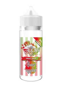 Течност FogKing Vape Sour Apples 50 ml (Nic Shot 10 ml)