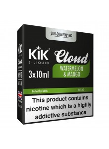 Течност Kik Cloud Watermelon & Mango 10 ml